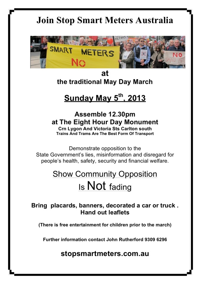May Day March 2013